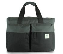 Tasche 'Weekender' schwarz / grau