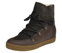 Boots 'Uma Wool' taupe / dunkelgrau