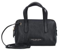 Plume Soft Donna Umhängetasche Tasche Leder 225 cm schwarz