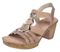 'Sandal stones' mit auffälligem Besatz rosa