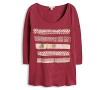 Shirt mit Ethno-Print rot
