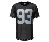T-Shirt in Mesh '93' schwarz