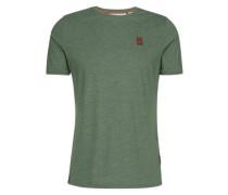 Male T-Shirt Italienischer Hengst VI grünmeliert