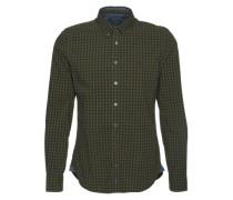 Hemd dunkelblau / dunkelgrün