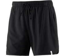 'Love' Shorts schwarz