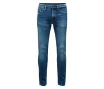 Skinny-Jeans in True-Mid-Blue-Waschung