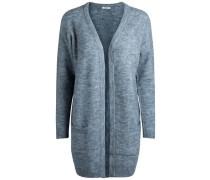 Woll-Strickjacke blau