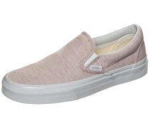 Classic Slip-On Speckle Sneaker pink
