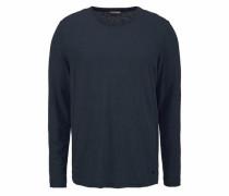 Langarmshirt kobaltblau