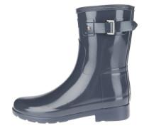 Stiefel W ORG Refined Short Gloss Wfs1098Rgl blau
