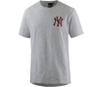 'New York Yankees' T-Shirt Herren graumeliert