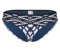 Bikinihose 'Modern Tribe' blau