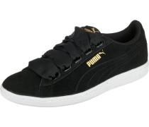 Sneakers 'Vikky Ribbon' schwarz
