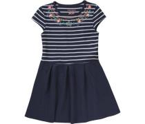 Kinder Jerseykleid blau / navy / dunkelblau