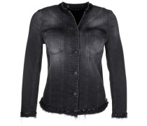 Jeansjacke Black Sequins schwarz