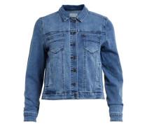Jeans-Jacke blau