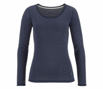 Flashlights Pullover blau