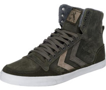 Slimmer Stadil Duo Oiled High Sneakers grün / khaki