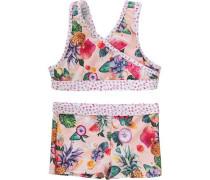 Kinder Bikini ANA grün / orange / pink / rosa / weiß