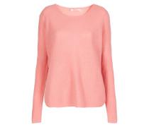 Pullover mit geradem Schnitt pink