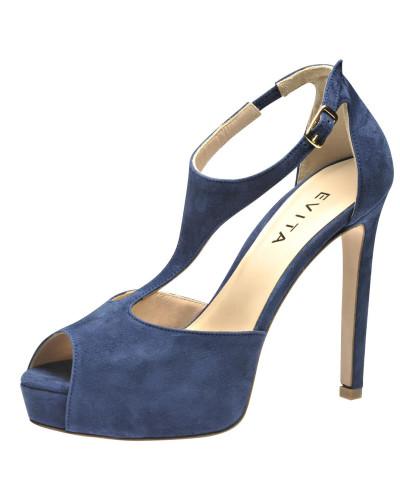 Auslass Evita Damen Sandalette blau Bestellen Günstig Online Freies Verschiffen Manchester Großer Verkauf Shop Selbst Günstig Kaufen Schnelle Lieferung H4rgDWB2p3
