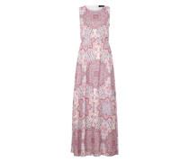Kleid 'Dear' nude / hellblau / rosa
