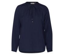 Bluse 'Gather LW' dunkelblau