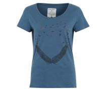 T-Shirt 'Mari' blau