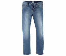 Stretch-Jeans 'super-Stretch' blue denim