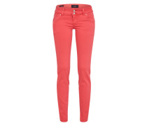 Stretchige Skinny Jeans 'Molly' koralle