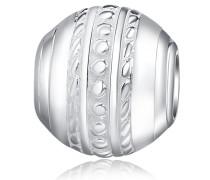 Bead ohne Armband silber