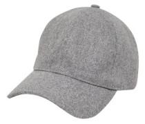 Woll-Cap grau