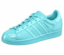 Sneaker 'superstar Glossy TO' türkis