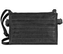 FREDsBRUDER Umhängetasche Leder 28 cm schwarz