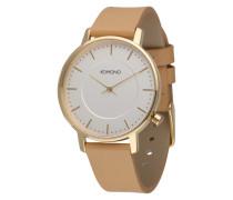 Armbanduhr 'Harlow' beige / gold