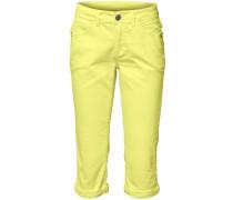 Caprihose gelb