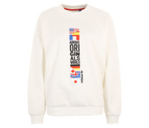 'Original World Archive' Sweater weiß
