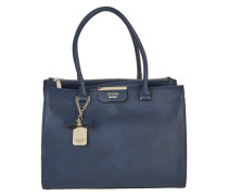 Shopper mit Leder-Optik 'Ryann Society Carryall' navy