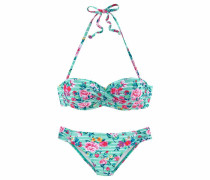 Beachwear Bügel-Bandeau-Bikini mint