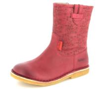Stiefel Cressona Leder pink / rot