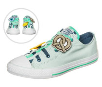 Chuck Taylor All Star 'Loopholes OX' Sneaker Kinder mint