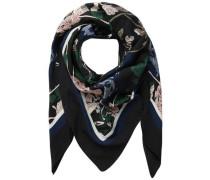 Quadratischer Schal schwarz