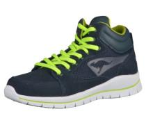 Sneaker kobaltblau / gelb / weiß