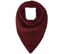 Klassischer Schal rot