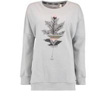 Sweatshirt 'LW Peaceful Pines' graumeliert