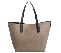 Shopper-Tasche beige