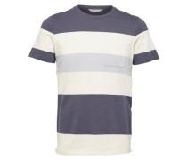 Rundhalsausschnitt-T-Shirt blau