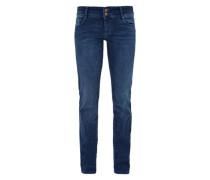 Shape Slim: Stretch-Jeans dunkelblau