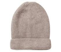 Woll-Mütze beige