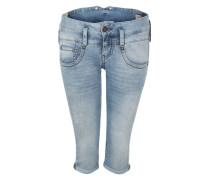 Jeans 'Pitch' in 3/4-Länge blue denim